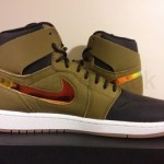 "リーク  Air Jordan 1 Retro High OG  Nouveau ""Militia Green"""