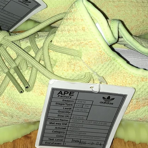 """Yeezy 350 Boost V2 """"Lime"""""""