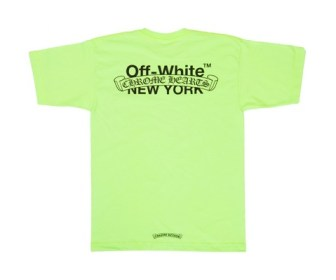 12月8日発売予定 OFF-WHITE x Chrome Hearts Tshirt COLLECTION