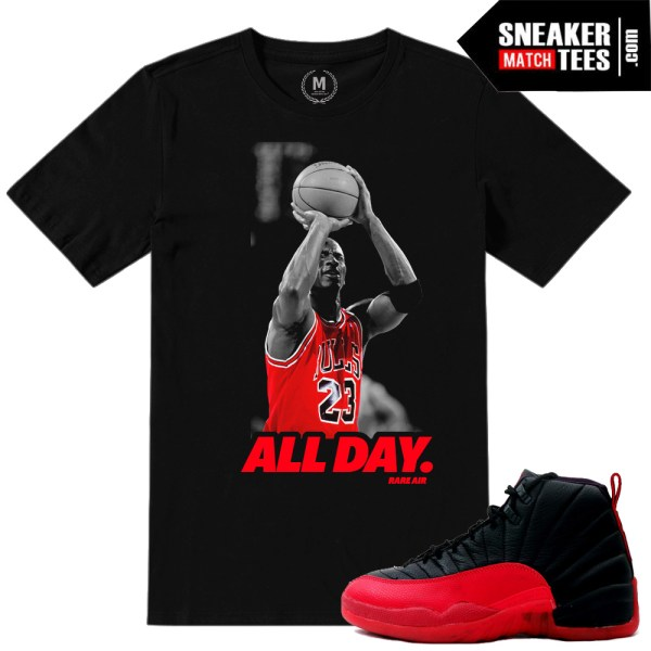 Flu Game Black Red Air Jordan 12 Retro