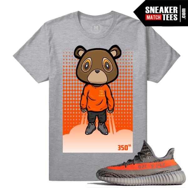 Yeezy 350 Boost T Shirt Yeezy Bear Sneaker Match Tees