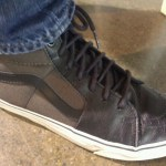 Vans High Tops black with green mesh at PowderKeg in Indianapolis