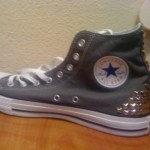 Wanna see | Converse hightops with studs