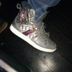 Sick Creative Recreation gray mid tops in Tru Hollywood Night Club