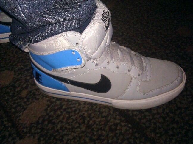 Nike Blue Grey
