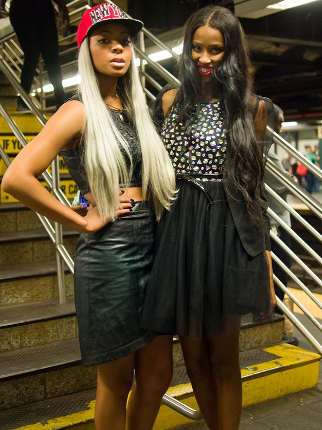 new yorker style, subway snapshot, swag outfits, New York Fashion Week S/S 2014 Street Style