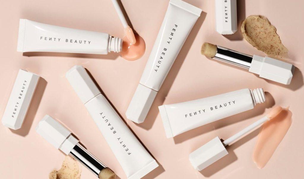 ผลการค้นหารูปภาพสำหรับ Fenty Beauty - Pro Kiss'R Lip-Loving Scrubstick & Luscious Lip Balm