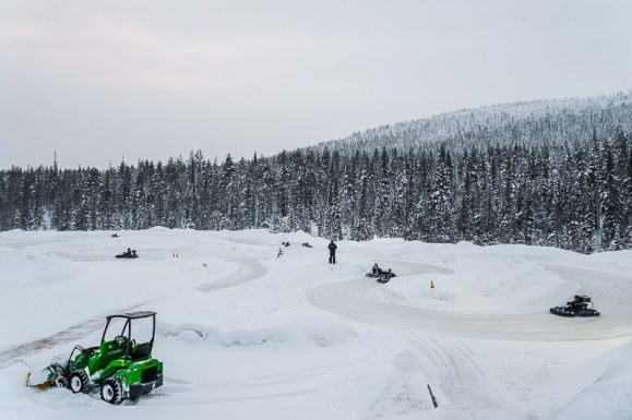 Icekarting Levi