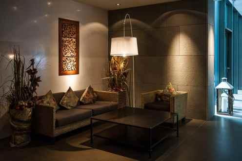 Teil der Lobby im Haus Cocon/Elements