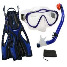 PROMATE Kids Snorkeling Set Review with Purge Mask  and Dry Snorkel