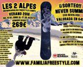 Les 2 alpes freestyle camps, Junio 2016