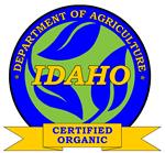 Idaho Organic label