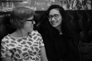 Shaina and Delane.