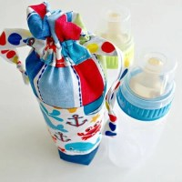 Insulated 'Keep Warm' Baby Bottle Cover