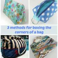 3 methods for boxing corners on bags