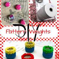 Make your sewing pattern weights 11 ways