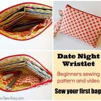 Easy Date Night Wristlet pattern