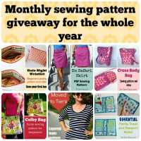 Monthly pattern giveaway