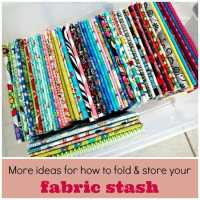 Organising your stash, how to keep it neat