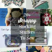 Scrap-busting stocking stuffers and gift ideas