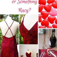 Something sweet, something racy.....a free sexy dress pattern