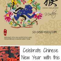 Oriental sewing roundup for Chinese New Year