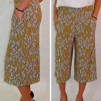 Culottes tutorial for summer time glamour