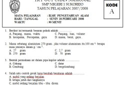 Try Out Online Smp Bank Soal Ujian