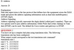 CCNA Exam 642-432 – Cisco Voice Over IP