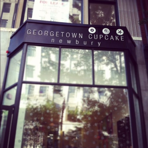 Newbury Georgetown Cupcake