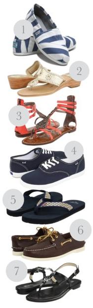 Essential Summer Footwear