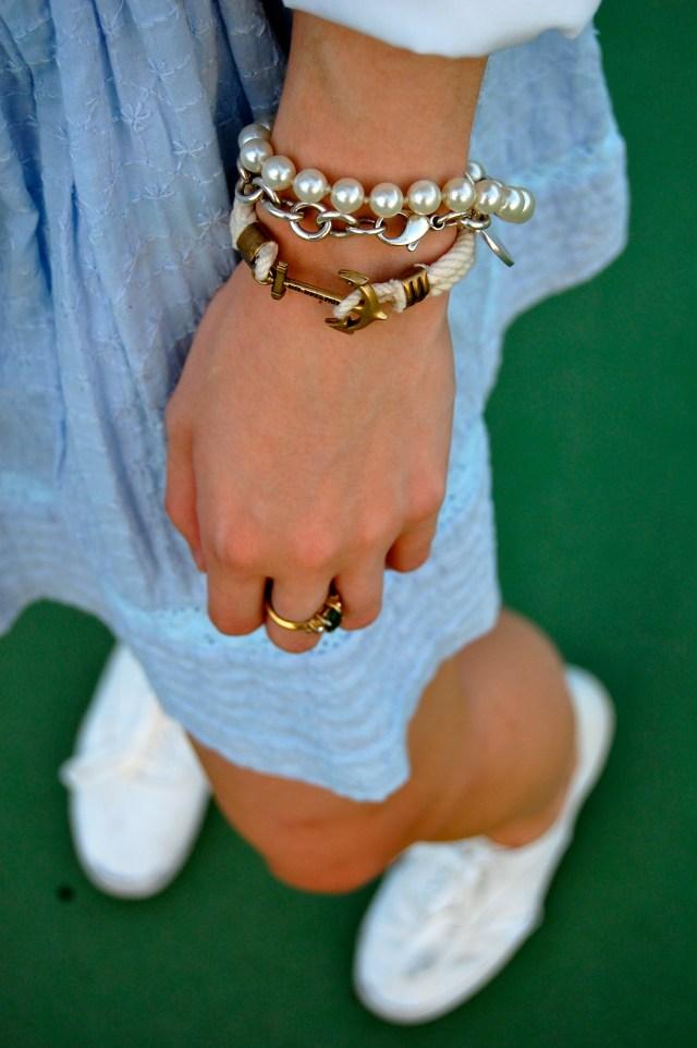 Kiel James Patrick anchor bracelet