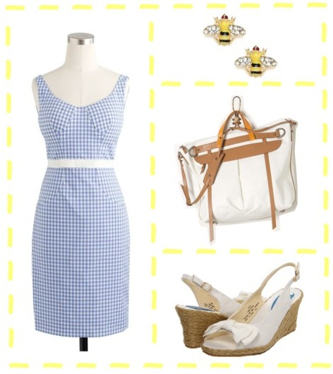 Gingham Picnic Outfit