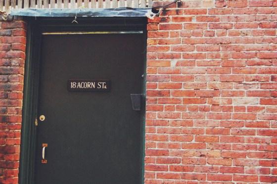 acorn street door