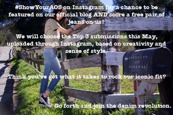 articles of society instagram contest