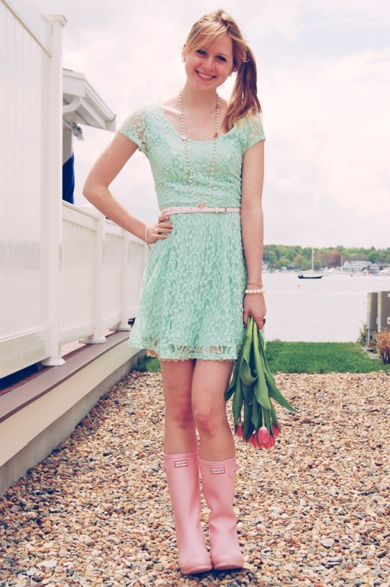 mint lace dress urban outfitters