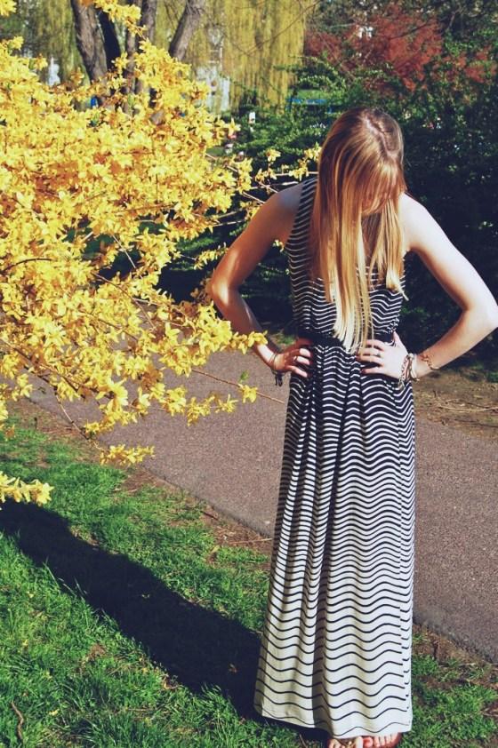 pretty waves tank maxi dress