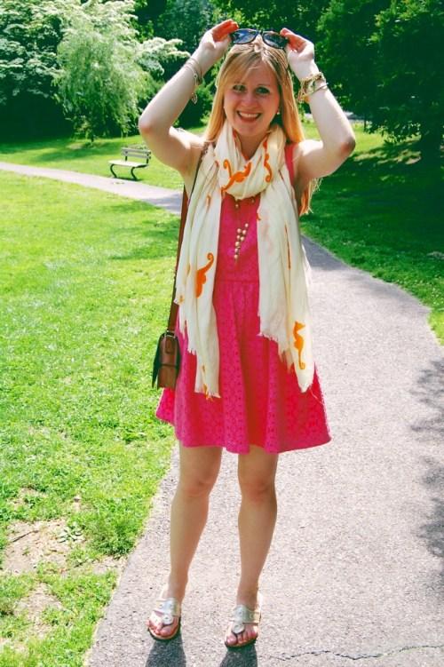 lilly pulitzer aleesa dress pink