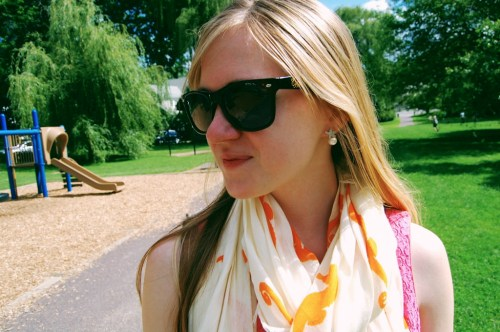 monogrammed sunglasses