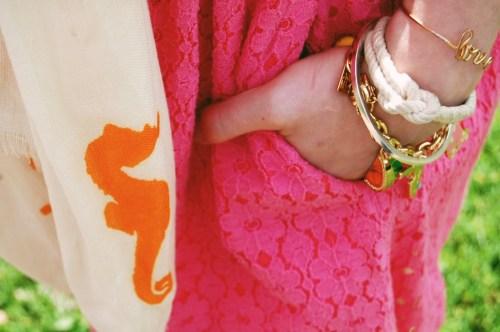 lilly pulitzer charm bracelet