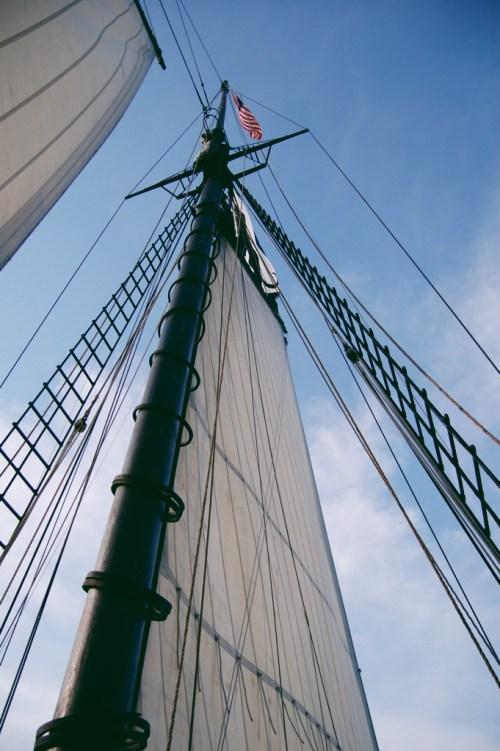 ship sails photography