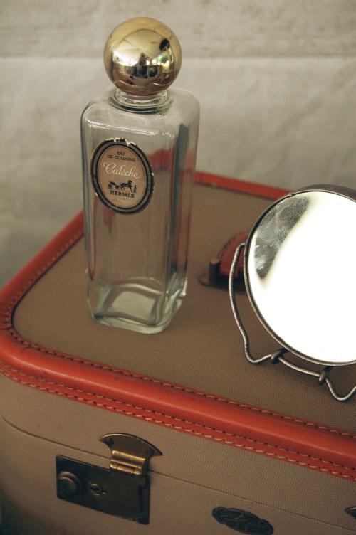 vintage hermes perfume bottle