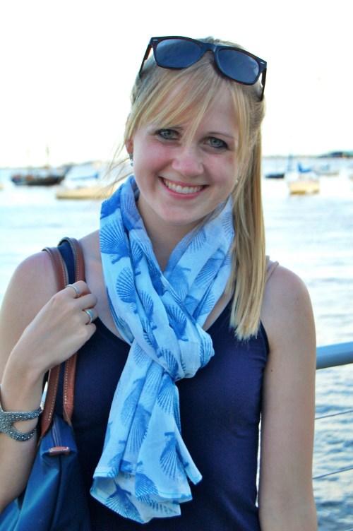 seashell scarf