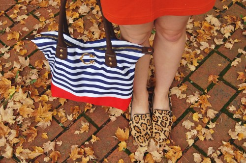 Striped C. Wonder Tote
