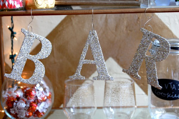 Sparkle Monogram Letters