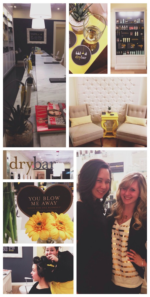 The Drybar Chestnut Hill; Boston Bloggers