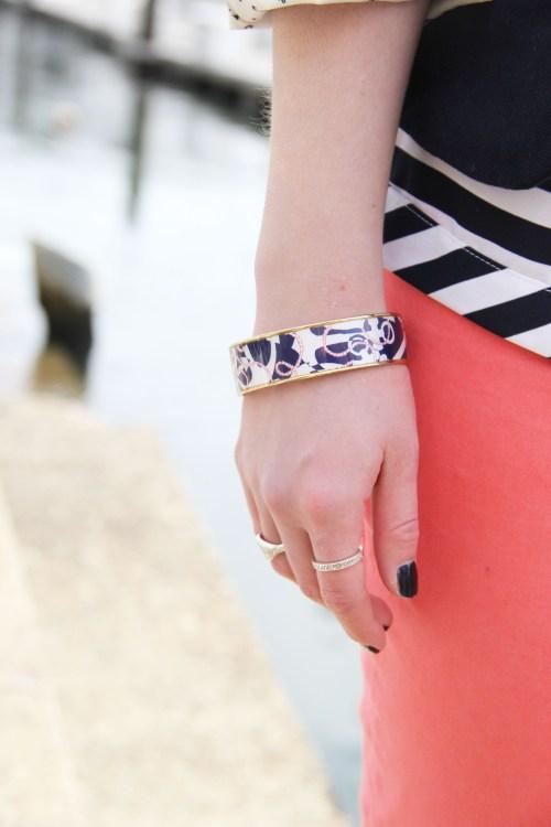 Lilly Pulitzer Booze Cruise Bangle Bracelet