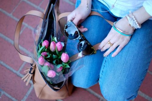 Trader Joe's Pink Tulips