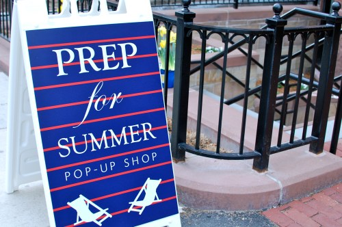 Prep for Summer Boston Preppy Pop-Up Shop