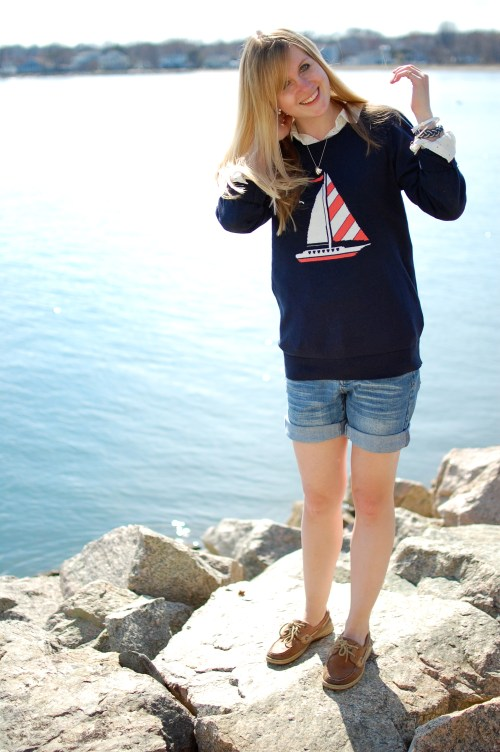 Nautical Spring Outfit